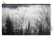 Trees And Clouds Carry-all Pouch
