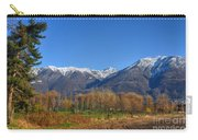 Trees And Mountain Carry-all Pouch