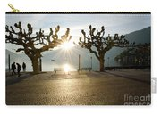 Trees And Sunset Carry-all Pouch