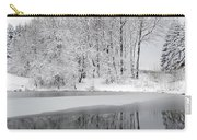 Trees By The Lake Carry-all Pouch