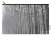 Trees In The Fog Carry-all Pouch