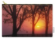 Trees In The Sunrise Carry-all Pouch