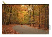 Trees Of Autumn - Holmdel Park Carry-all Pouch by Angie Tirado