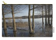 Trees On Flooded Riverbank No.1001 Carry-all Pouch