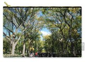 Trees On The Mall In Central Park Carry-all Pouch