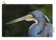 Tricolor Heron Portrait Carry-all Pouch