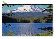 Trillium Lake At Mt. Hood II Carry-all Pouch