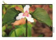 Trillium Wildflower Carry-all Pouch