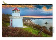 Trinidad Memorial Lighthouse Morning Carry-all Pouch