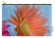 Triptych Gerbera Daisies-three Carry-all Pouch