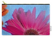 Triptych Gerbera Daisies-two Carry-all Pouch