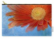 Triptych Gerbera Daisy-one Carry-all Pouch