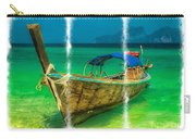 Triptych Longboat Carry-all Pouch