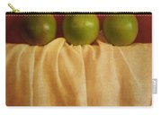 Trois Pommes Carry-all Pouch by Priska Wettstein