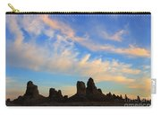 Trona Pinnacles At Sunset Carry-all Pouch
