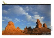 Trona Pinnacles Golden Hour Carry-all Pouch