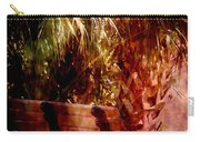 Tropical Bench Carry-all Pouch by Susanne Van Hulst