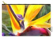Tropical Bird Of Paradise Carry-all Pouch