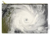 Tropical Cyclone Ivan Over Madagascar Carry-all Pouch