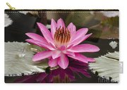 Tropical Night Flowering Water Lily  Rose De Noche IIi Carry-all Pouch