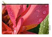 Tropical Rose Canna Lily Carry-all Pouch