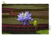 Tropical Water Lilies Carry-all Pouch