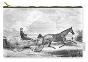 Trotting Horse, 1853 Carry-all Pouch