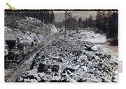 Truckee River - California - C 1865 Carry-all Pouch