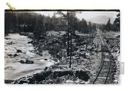Truckee River - California Looking Toward Donner Lake - C 1865 Carry-all Pouch