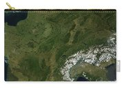 True-color Satellite View Of France Carry-all Pouch