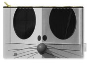 Truly Nolen Rat In Black And White Carry-all Pouch by Rob Hans