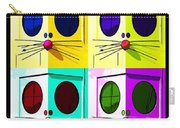 Truly Nolen Rat In Quad Colors Carry-all Pouch
