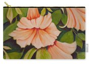 Trumpet Flowers Carry-all Pouch