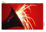 Trumpet Shooting Sparks Carry-all Pouch