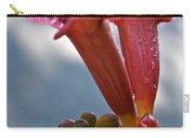 Trumpet Vine Floral Carry-all Pouch