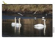 Trumpeter Swans Carry-all Pouch