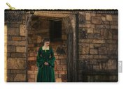 Tudor Lady In Doorway Carry-all Pouch