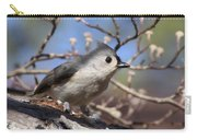 Tufted Titmouse - Always Alert Carry-all Pouch