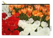 Tulip Flowers Festival Art Prints Floral Baslee Carry-all Pouch