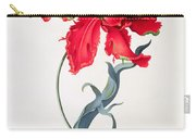 Tulip Perroquet Rouge Carry-all Pouch