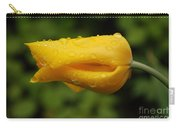 Tulip With Raindrops 2 Carry-all Pouch