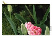 Tulips And Evergreen Carry-all Pouch
