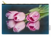 Tulips And Reflections Carry-all Pouch