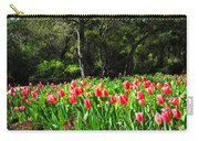 Tulips And Woods Carry-all Pouch