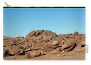 Tumbling Rocks Of Gold Butte Carry-all Pouch