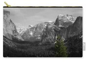 Tunnel View Selective Color Carry-all Pouch