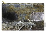 Tunnel With Abandoned Railtracks Carry-all Pouch