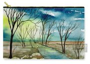 Turbulent Sky Carry-all Pouch