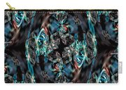 Turquoise Crystals Carry-all Pouch