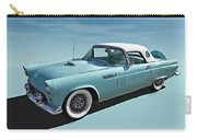 Turquoise T-bird Carry-all Pouch